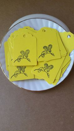 Check out this item in my Etsy shop https://www.etsy.com/listing/449536320/yellow-fairy-tags