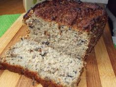 GF seeded bread 3 cups of gluten-free flour 1 tspn bicarb soda 1 tspn salt 1 cup sunflower seeds 1 cup sesame seeds cup poppy seeds 600 mls butter milk 3 tspns honey Gluten Free Baking, Gluten Free Recipes, Baking Recipes, Cake Recipes, Sour Cream Banana Bread, Yummy Food, Tasty, Easy Casserole Recipes, Polish Recipes