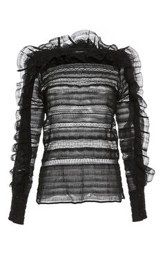 Rivera Layered Embroidered Blouse by ISABEL MARANT for Preorder on Moda Operandi