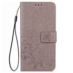 Just US$4.94 + free shipping, buy Yc Lucky Clover Holster Leaf Card Lanyard Pu Leather for Xiaomi Max online shopping at GearBest.com.