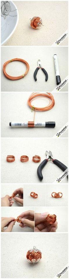 Come fare Jewelry Wire Handmade Per personalizzati gioielli artigianali da pandahall.com da Jersica
