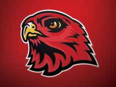 Ravenwood Raptors by Micah Sledge Sports Decals, Sports Logos, Athletics Logo, Falcon Logo, Bird Logos, Branding, Logo Concept, Raptors, Spray Painting