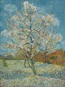 The Pink Peach Tree, 1888; Location: Van Gogh Museum, Amsterdam
