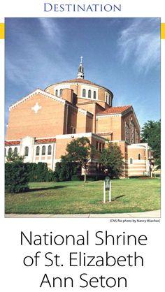 National Shrine of St. Elizabeth Ann Seton, Emmitsburg, Maryland, Catholic, Destinations, The Observer, Sept-5-2009