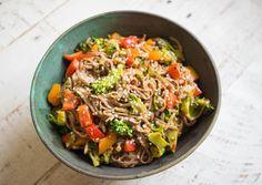 10-Minute Drunken Teriyaki Noodle Stir Fry Recipe on Yummly. @yummly #recipe