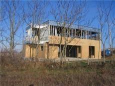 Villa moderne en acier galvanise