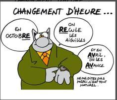 """Le Chat"" de Philippe Geluck."