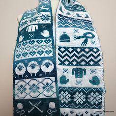 Ravelry: Knit Season Scarf pattern by Lisa Hannan Fox