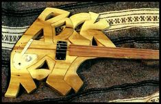 Graffiti Bass Guitar.