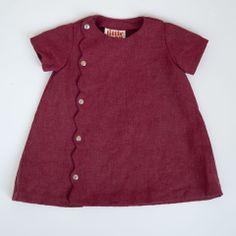 HOPSCOTCH DRESS - tomato cotton