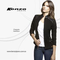 Arma tu #look de martes, un blazer con delicados detalles y apliques, más unos jeans oscuros te permitirán conseguir el outfit que siempre has querido #KenzoJeans www.kenzojeans.com.co