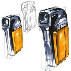 Hidrocor, Industrial Design Sketch, Sketches Tutorial, Sketch Markers, Marker Art, Transportation Design, Sketch Design, Copics, Design Process
