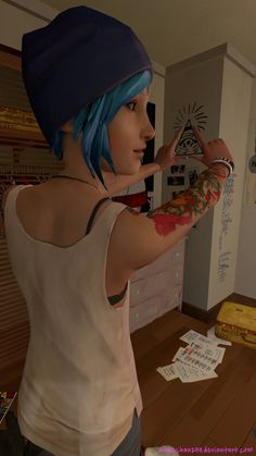 Chloe: Illuminati confirmed! by Kasechan233