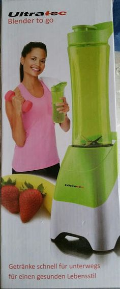 Jenny´s Testerei: Smoothie Maker - Ultratec Blender to Go - 2 In 1 S...
