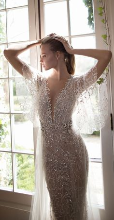 Super love the beading and has nice floaty sleeves. Leave off see through cape