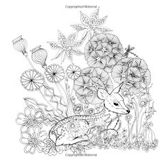 Tangle Wood: A Captivating Colouring Book with Hidden Jewels: Jessica Palmer: 0499995258716: Amazon.com: Books#reader_1782213538