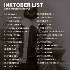 Preparing for Inktober now included **The prompts are now updated WITH HASHTAGS! And to get inspired, I have put together Inktober prompt lists, to help us create. Sketchbook Prompts, Art Prompts, Art Sketchbook, Sketchbook Challenge, 30 Day Drawing Challenge, Writing Challenge, Oc Challenge, Challenge Ideas, Drawing Prompt