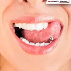 Connaissez-vous les effets les plus communs que les piercings oraux peuvent avoir sur notre santé? Découvrez sur notre Blog:  http://www.swissdentalservices.com/fr/blog/2017/01/17/les-piercings-oraux/ -------------------------------------------- www.swissdentalservices.com/fr #dentiste #implants #sourire #clinique (Pour plus d'informations ou pour organiser une consultation d'évaluation, envoyez vos coordonnées par message privé)