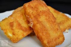 Cascaval pane - CAIETUL CU RETETE Quick Easy Meals, Cornbread, Breakfast Recipes, French Toast, Food And Drink, Appetizers, Cooking Recipes, Cheese, Bakken