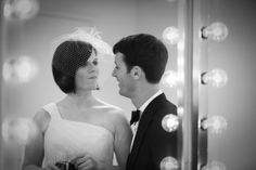 Alone time in the dressing room of a theater  Photography by Carper Creative Photography. Wedding designed by Inspired Grace Weddings