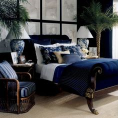 Bedroom Lovely Ralph Lauren Bedroom Furniture Pertaining To Uk Used Macys Libraryndpinfo Ralph Lauren Bedroom Furniture Bedroom Color Schemes, Bedroom Colors, Contemporary Bedroom, Modern Bedroom, Contemporary Classic, Navy Master Bedroom, Bedroom Black, Masculine Room, Bedroom Furniture