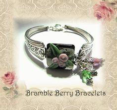 Spoon Bracelet  Spoon Jewelry  Vintage by brambleberrybracelet, $34.50