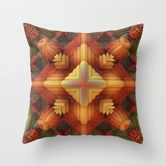 Fall Approaches Throw Pillow by Lyle Hatch - $20.00
