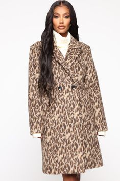 Roar Through It Coat – Leopard – Daily Fashion Cut And Style, Cool Style, Stylish Outfits, Fall Outfits, Leopard Fashion, Fashion Nova Models, Types Of Fashion Styles, Daily Fashion, Coat