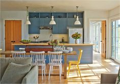 Centsational Girl - modern farmhouse kitchen. More modern farmhouse style spaces in the post.
