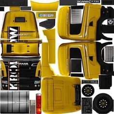 Post with 216 votes and 28889 views. Bus Games, Truck Simulator, Truck Mods, Construction Machines, Heavy Truck, Paper Models, Custom Trucks, Holidays And Events, Volvo