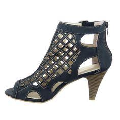 Kickly - Scarpe da Moda sandali scarpe decollete Gladiatore alla caviglia donna Finitura cuciture impunture Tacco a cono tacco alto 8 CM - Nero T 36 - UK 3.5 in OFFERTA su www.kellieshop.com Scarpe, borse, accessori, intimo, gioielli e molto altro.. scopri migliaia di articoli firmati con prezzi da 15,00 a 299,00 euro! #kellieshop Seguici su Facebook > https://www.facebook.com/pages/Kellie-Shop/332713936876989