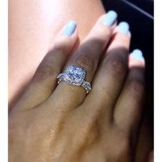 This ring was a ring I fell in love at first sight and it was the one that my love ended up buying for me in the end. Absolutely perfect.