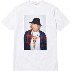 Neil Young Tee / Supreme / SS15 Neil Young, Young T, Mike Tyson, White Shirts, White Tees, Lady Gaga, T Shirt Supreme, Supreme Clothing, Hood By Air