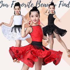 c567f947522a US $8.31 16% OFF|New Girl short Sleeves Standard Latin Dance Dress Children  Ballroom Dance Dresses Kids Salsa Rumba Cha Cha Samba Tango Dress-in Latin  from ...