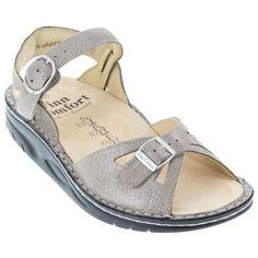55102e77652f Women s Finn Comfort Motomachi Sandals Fango Pewter Sz 11.5 - Free  Shipping!  fashion