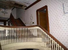 1900 Classical Revival in New Bedford, MA. Sadly, these stunning staircases (as well as the entire house) were demolished. Im Losing My Mind, Lose My Mind, Nicole Dollanganger, Carrie White, The Rocky Horror Picture Show, New Bedford, Weird Dreams, Creepy Cute, Abandoned Places