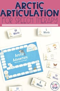 Arctic Articulation is a speech therapy game for g…Edit description