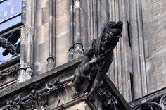 Gargoyle (Wasserspeier) am Dom