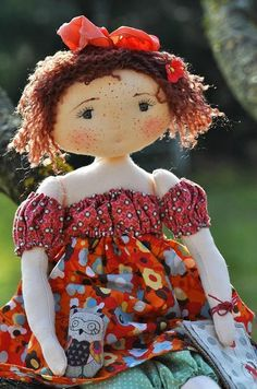 тряпиная кукла