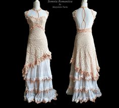 Dress Valence art nouveau edwardian romantic door SomniaRomantica, $475.00