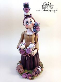Birthday-topper with pets (rats and guinea pigs) Pet Rats, Pets, Guinea Pigs, Clay, Disney Princess, Disney Characters, Birthday, Fimo, Clays