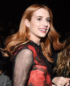 Emma Roberts caught mid hair flip at Coach. #nyfw (: @lightboxer)  via WOMEN'S WEAR DAILY MAGAZINE OFFICIAL INSTAGRAM - Celebrity  Fashion  Haute Couture  Advertising  Culture  Beauty  Editorial Photography  Magazine Covers  Supermodels  Runway Models