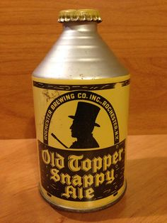 Old Topper Snappy Ale Rochester Brewing Co. Rochester, NY 197-29