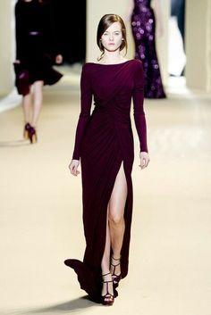 Dress _ Vestido _ Elie Saab _ Alta costura _ Madrinha _ Vinho _ Bordô