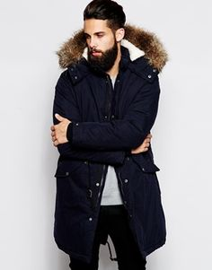 Get this Nicce London's parka now! Click for more details ...