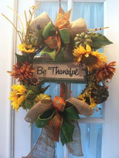 wreath thanksgiving | Thanksgiving Wreath
