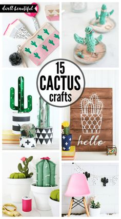 Easy DIY Cactus Crafts to Make, Sell, and Share - Dwell Beautiful