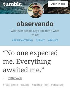 This guy has the best tumblr observando.net