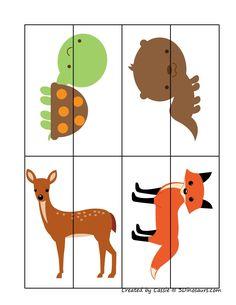 zoek de juiste helft Printable Preschool Worksheets, Printable Puzzles, Preschool Curriculum, Montessori Activities, Worksheets For Kids, Infant Activities, Printables, Preschool Transitions, Autism Crafts