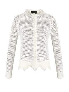 Merino wool, silk and cashmere-blend caridgan | Simone Rocha | MATCHESFASHION.COM US